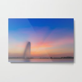 Jeddah Fountain Metal Print