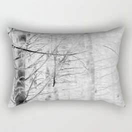 x-ray branch Rectangular Pillow