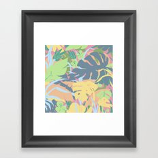 Jungle Flora 2 Framed Art Print