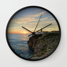 Cabo de Sao Vicente, Algarve Wall Clock
