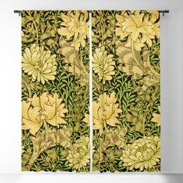 William Morris Vintage Chrysanthemum Pattern   Blackout Curtain