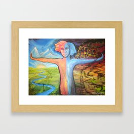 Truth & Consequences  Framed Art Print