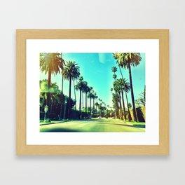 Beverly Hills California Framed Art Print