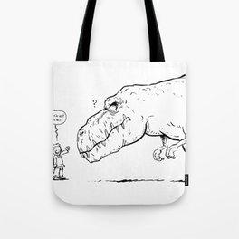Le nez du T-rex Tote Bag