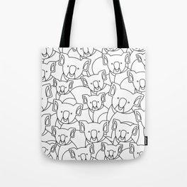 Minimalist Koala Tote Bag