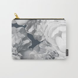 Elegant Peony Bouquet Gray Monochrome #decor #society6 #buyart Carry-All Pouch