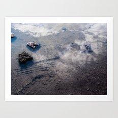 Sky Stones Art Print