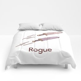 Cute Dungeons and Dragons Rogue class Comforters