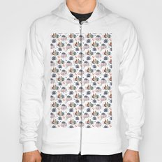 Trick or Treat Floral Pattern Hoody