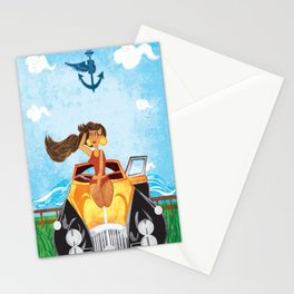Gettin' Bentley Stationery Cards