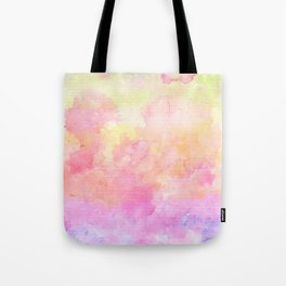 Rainbow Watercolour Gradient Tote Bag