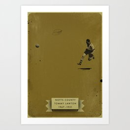 Notts County - Lawton Art Print