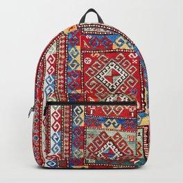 Kazak Southwest Caucasus Rug Print Backpack