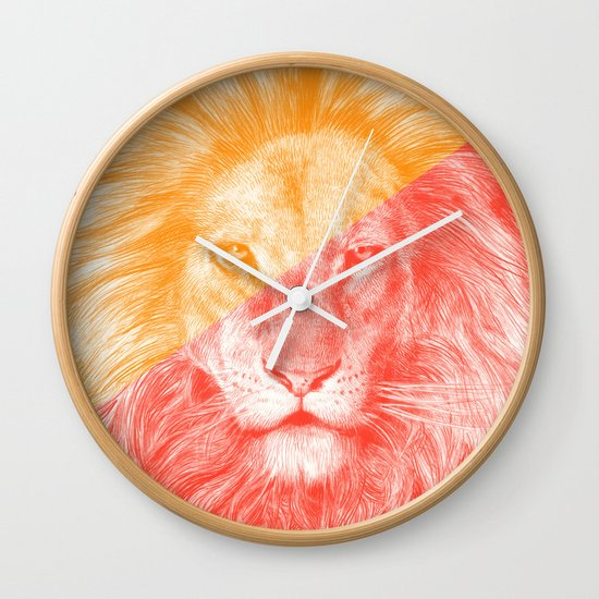 Wild 3 - by Eric Fan and Garima Dhawan Wall Clock