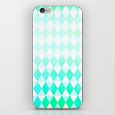 Spring Triangles iPhone Skin