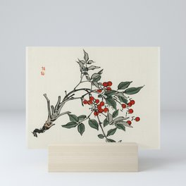 Butterflies by Kono Bairei (1844-1895) Mini Art Print