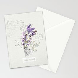 Living Flowers Tryptych Stationery Cards