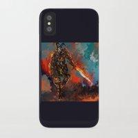 iron man iPhone & iPod Cases featuring iron man by ururuty
