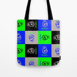 HAPPY Japanese Tote Bag