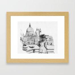 First View of Venice Framed Art Print