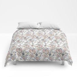 Heart Vines Comforters