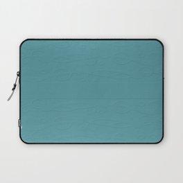 Cadet Blue Breaker Bay Laptop Sleeve