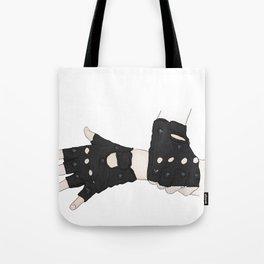 Biker Gloves Tote Bag