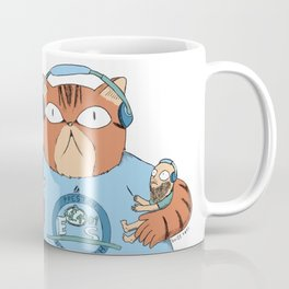 Angus the cat Coffee Mug