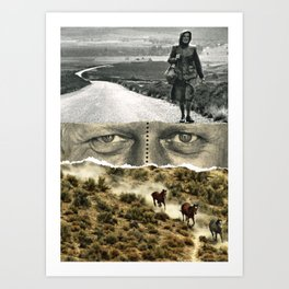 There Was A Time Art Print