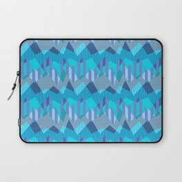 ZigZag All Day - Blue Laptop Sleeve