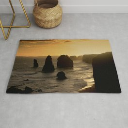Sunset over the Twelve Apostles Rug