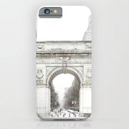 Washington Square Park Arch iPhone Case
