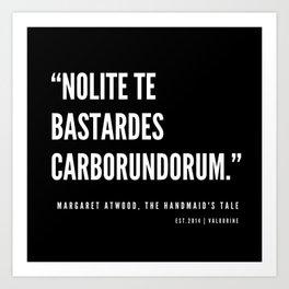 10    The Handmaid's Tale Quote Series    190610 Art Print