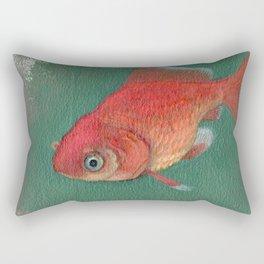 Goldfish #3 Rectangular Pillow