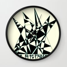 Take The Pain Away Wall Clock