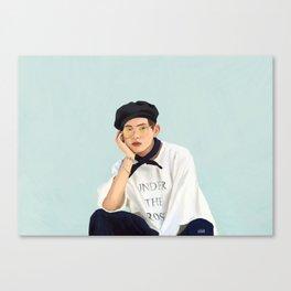 Beachboy Taehyung Canvas Print