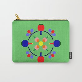 Table Tennis Design Carry-All Pouch