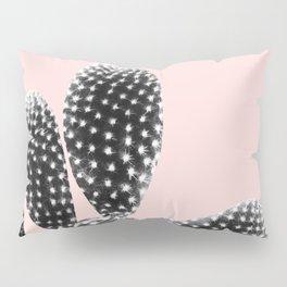 Black Blush Cactus Dream #1 #plant #decor #art #society6 Pillow Sham