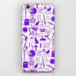 Buffy Symbology, Purple iPhone Skin