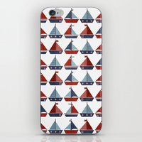 My Little Sail Boat. iPhone & iPod Skin