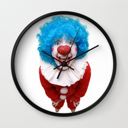 Happy Clown Wall Clock