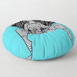 Linear Love 2 Floor Pillow