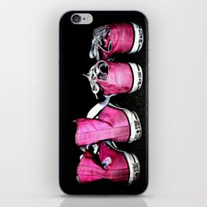 Pink Shoes iPhone & iPod Skin