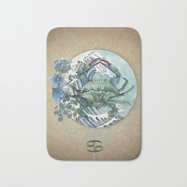 Zodiac Sign - Cancer Bath Mat