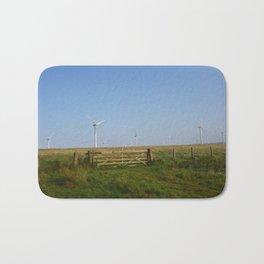 Scottish Wind Mills Bath Mat