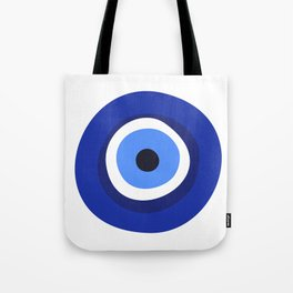 evil eye symbol Tote Bag