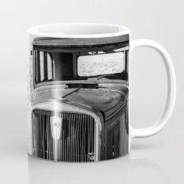 Abandoned Old Car In Desert Coffee Mug