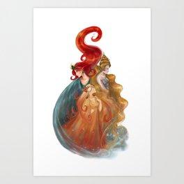 The Three Queens Art Print