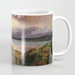 Frederic Edwin Church - View Of Cotopaxi - Digital Remastered Edition Coffee Mug
