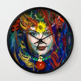 Chiquita life flower Within Wall Clock